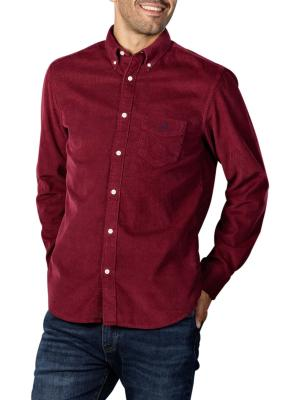 Gant D2 Corduroy Reg BD Shirt port red