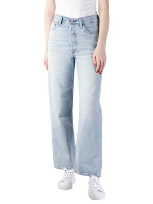 Levi's Ribcage Jeans Straight ankle middle road