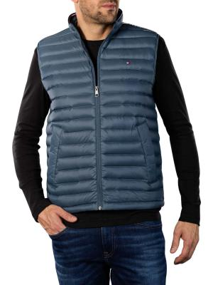 Tommy Hilfiger Packable Down Vest charcoal blue