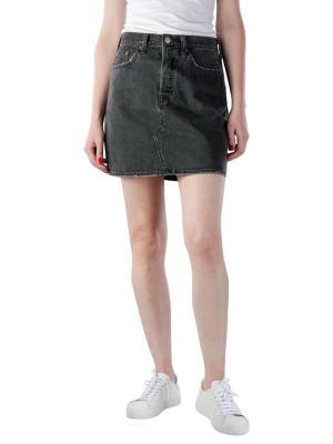 Levi's High Rise Deconstructed Button Fly Skirt regular prog