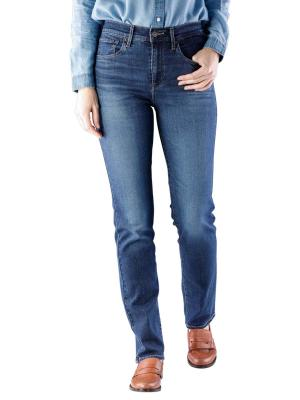Levi's 724 High Rise Straight carbon dust t2