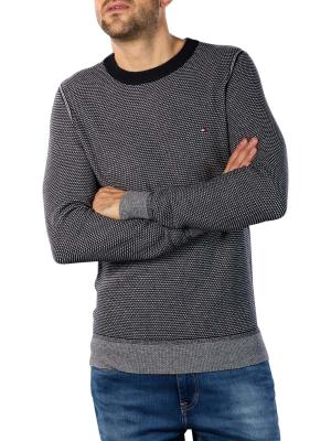 Tommy Hilfiger Two Tone Structure Sweater desert sky