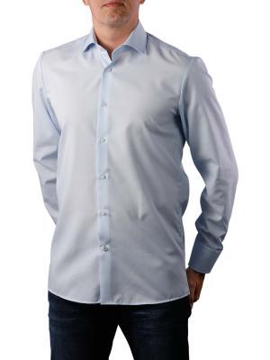 THE BASICS Hemd Modern Fit Hai bügelleicht blue