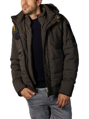 PME Legend Hooded Jacket 3D Skytruck olive
