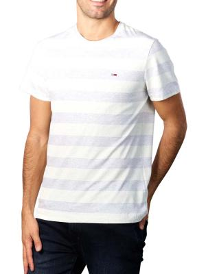 Tommy Jeans Heather Stripe T-Shirt white
