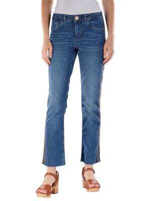 Mos Mosh Sunn Jeans Skinny Stripe Ankle blue