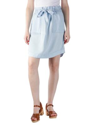 Marc O'Polo Tencel Skirt Elastic Waistband bleach wash