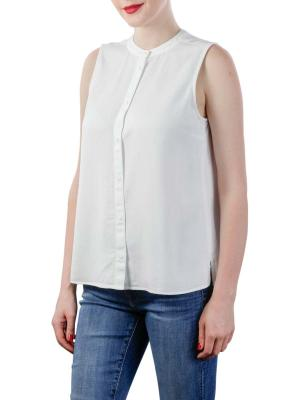 Marc O'Polo Denim Top Sleeveless white shirt tencel wash