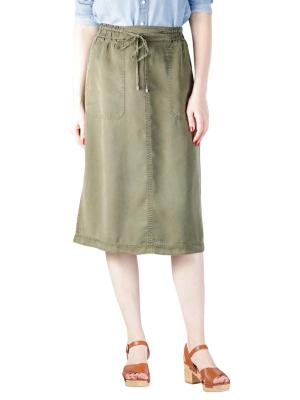 Marc O'Polo Skirt Straight Shape soaked moss