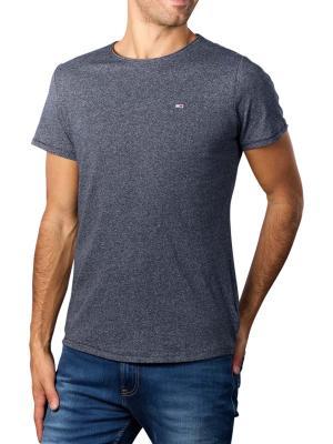 Tommy Jeans T-Shirt Slim Jaspe twilight navy