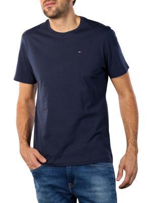 Tommy Jeans Original Jersey Crew T-Shirt black iris