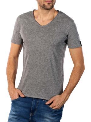 Replay Viscose T-Shirt grey melange