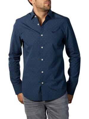 PME Legend Long Sleeve Shirt Dobby blue
