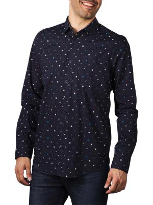 PME Legend Long Sleeve Shirt Allover Print 5073