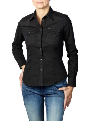 Lee Slim Western Shirt black