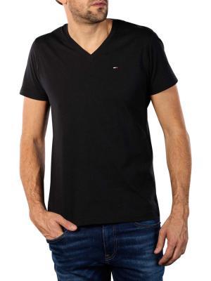 Tommy Jeans Original Jersey V T-Shirt tommy black