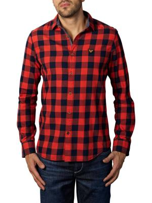 PME Legend Long Sleeve Shirt Twill Check red