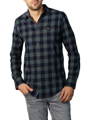 PME Legend Long Sleeve Shirt Twill Check green