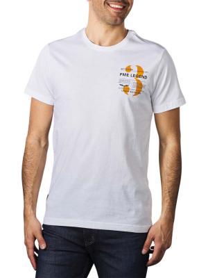 PME Legend T-Shirt Logoprint 1520 white
