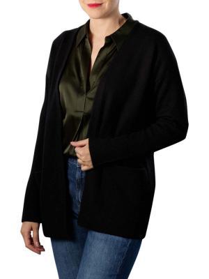Yaya Cardigan With Pockets black