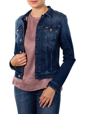Tommy Jeans Vivianne Slim Trucker Jacket niceville blue