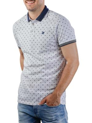 Vanguard Short Sleeve Polo Pique two tone stretch