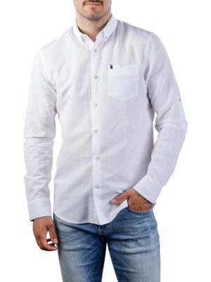 Vanguard Long Sleeve Shirt Cotton Linen 2 Tone 7003