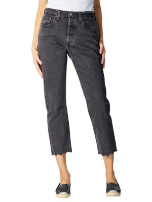 Levi's 501 Cropped Jeans Straight Fit lady crush