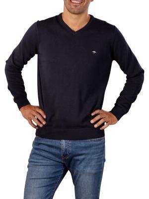 Fynch-Hatton V-Neck Sweater navy
