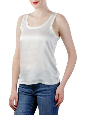Yaya Fabric Mix Singlet blanc de blanc