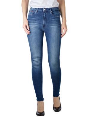 Tommy Jeans Sylvia Super Skinny new niceville mid blue