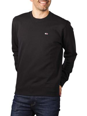Tommy Jeans Regular Fleece black