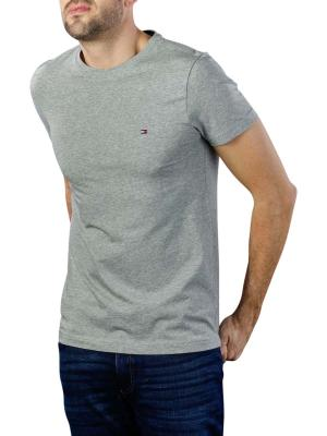 Tommy Hilfiger Core Stretch Slim Crew T-Shirt cloud heather