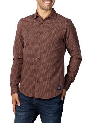 Scotch & Soda Structured Check Shirt 0217