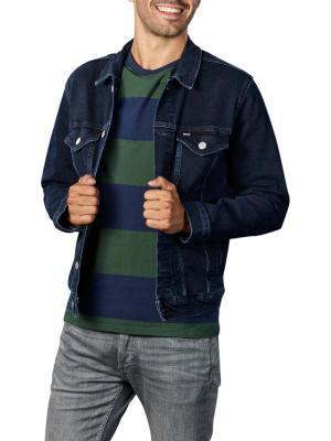 Tommy Jeans Regular Trucker Jacket oslo blue bk com