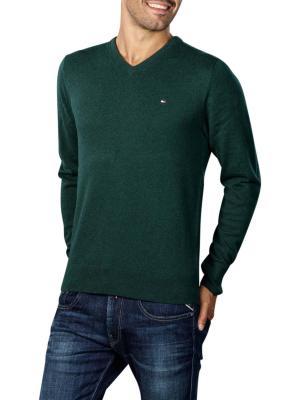 Tommy Hilfiger Pima Cotton Cashmere Sweater hunter heather