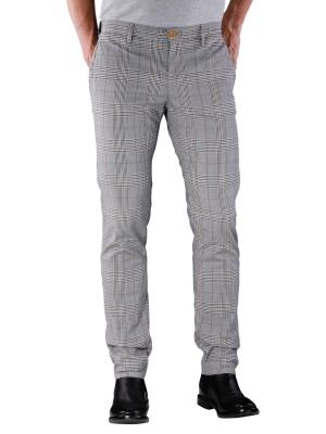 Alberto Rob Pant Straight Coloured check