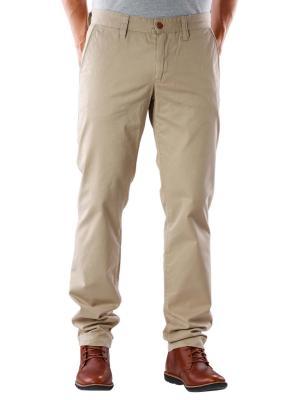 Alberto Lou Compact Cotton Pant beige