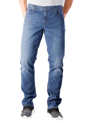 Alberto Pipe Jeans Slim Coolmax Denim blue