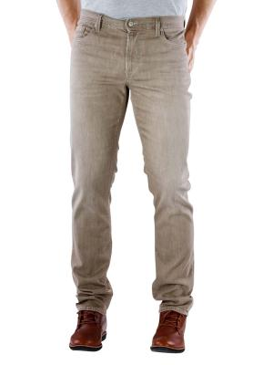 Alberto Pipe Pant Superfit brown melange