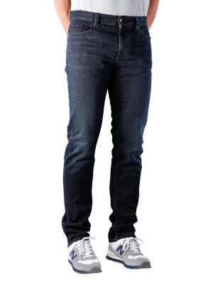 Alberto Pipe Slim Fit Triple Dyed dark blue