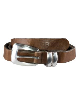 Mia olive 20mm by BASIC BELTS