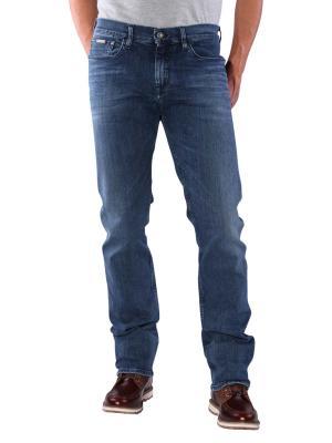 Calvin Klein Straight Leg Jeans structured light comfort