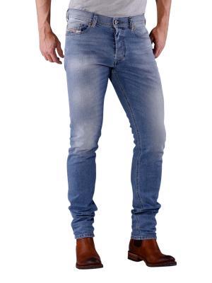 Diesel Tepphar Jeans light blue sandpaper