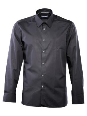 Einhorn Hemd Jamie Modern Fit Kent bügelfrei black