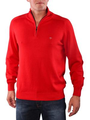 Fynch-Hatton Troyer Zip Pullover red