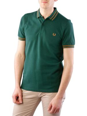 Fred Perry Tramline Tipped Polo ivy