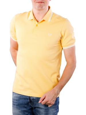 Fred Perry Twin Tipped Shirt cornsilk