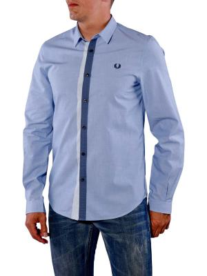 Fred Perry Tipped Placket Two Tone turquoise