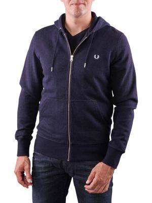 Fred Perry Loopback Hooded Sweat navy marl
